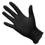 Перчатки нитриловые не опудренные 100 шт. черные ХL