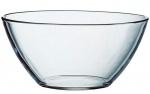 Миска  стекляная диаметр 17 см.