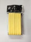 Губка-спонж прессованная желтая 12 шт.